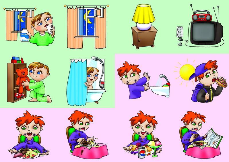 Картинки По Валеологии Для Младших Дошкольников